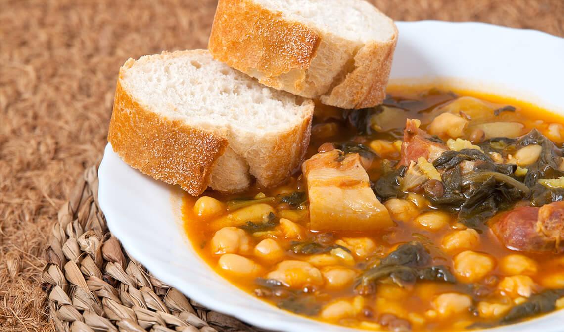 Cocinar Potaje De Garbanzos | Potaje De Garbanzos Aceites La Espanola