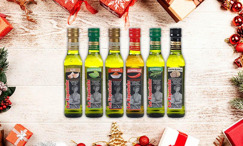 Aceites aromatizados: el éxito en vuestro menú navideño