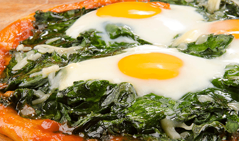 espinaca-huevo-verdura