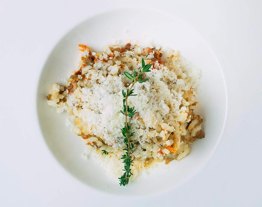 risotto-con-tomate-seco-y-champiñones