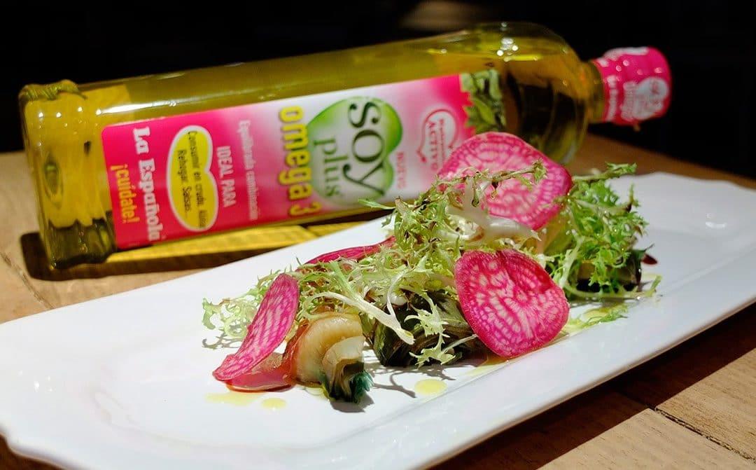 Ensalada de alcachofa y remolacha