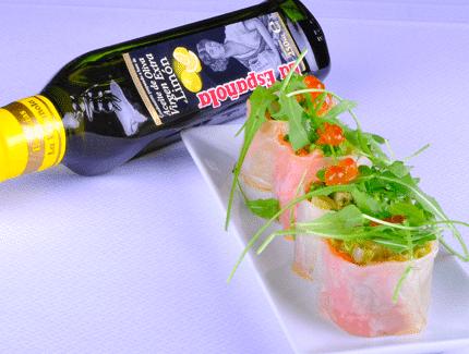 Nems de salmón