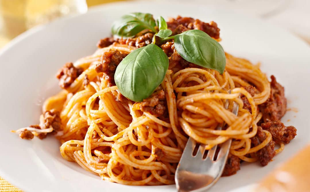 Espaguetis a la bolońesa