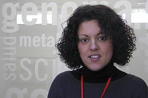 Emma Burgos, investigadora del IMDEA (Instituto Madrileño de Estudios Avanzados)