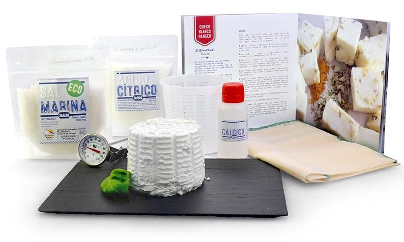 Gastrojardin, queso blanco