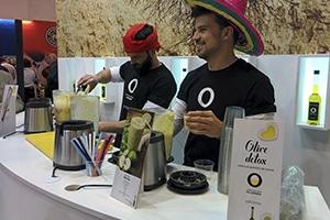 """""""Donde nace el aceite"""", el stand de los Aceites de Oliva de España en el 30º Salón de Gourmets"""