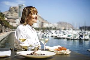 María José San Román, Chef y Propietaria del Restaurante Monastrell