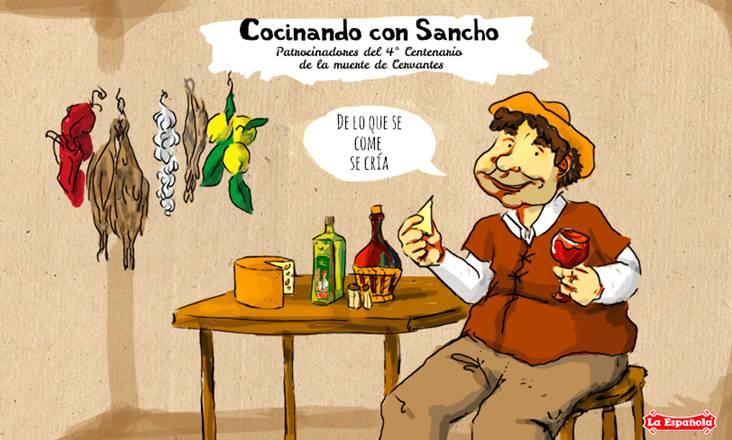 Con fundamento y sabor. Menú Sancho Panza