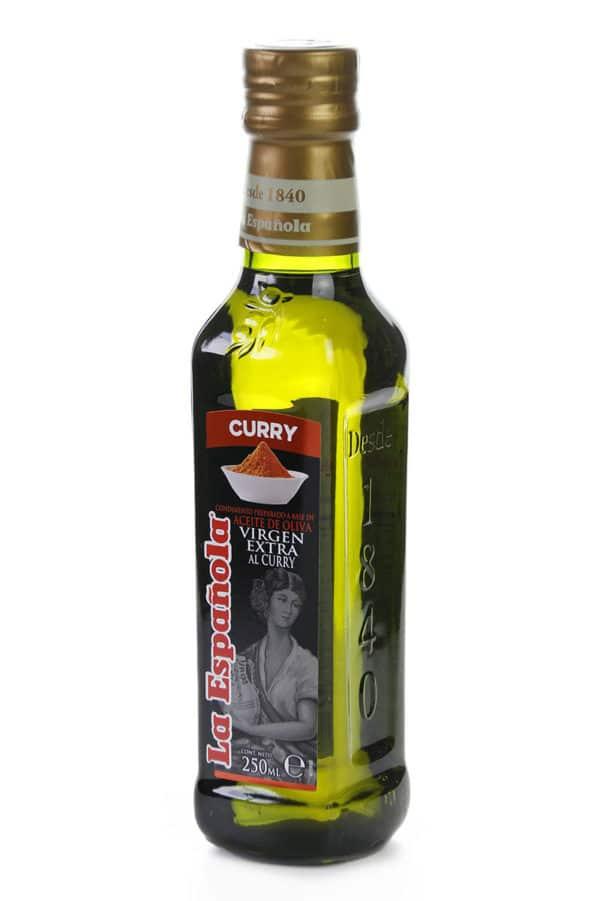 aceite aromatizado con curry