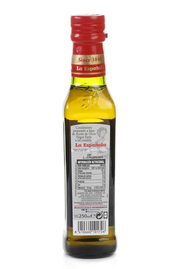 aceite de oliva con guindilla
