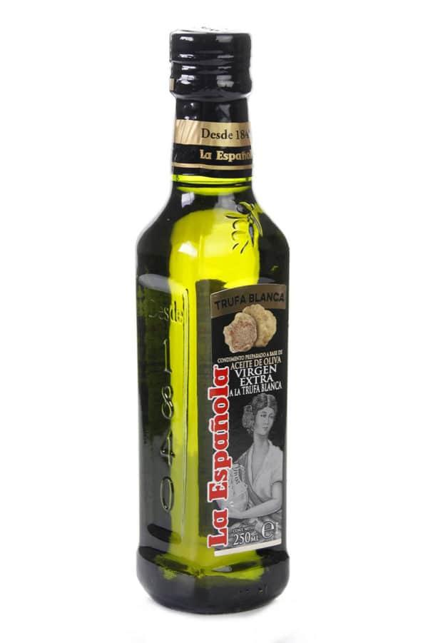 aceite de oliva con trufa blanca