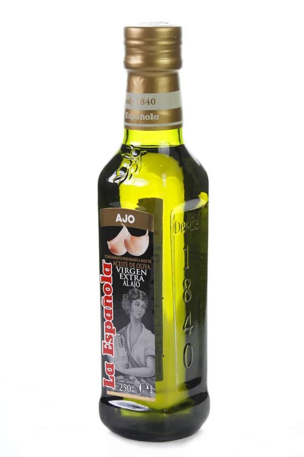 aceite de oliva virgen extra con ajo