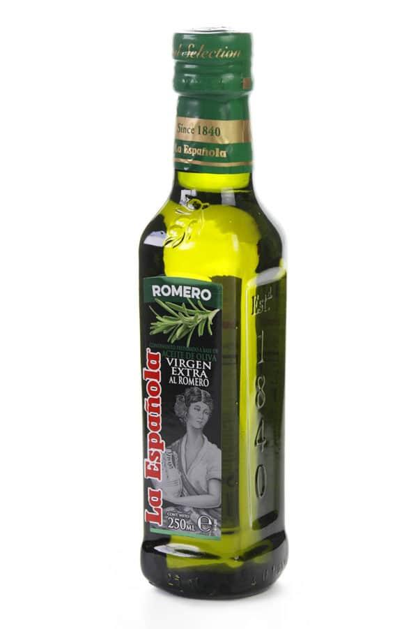 aceite de oliva virgen extra con romero