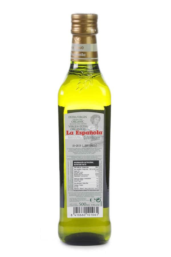 aceite de oliva virgen extra ecologico