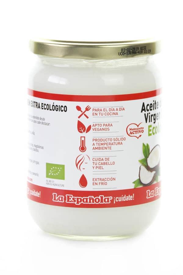 aceite virgen extra de coco ecologico