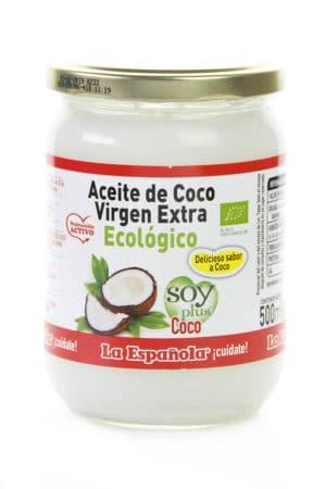 comprar aceite de coco organico virgen extra Soy Plus