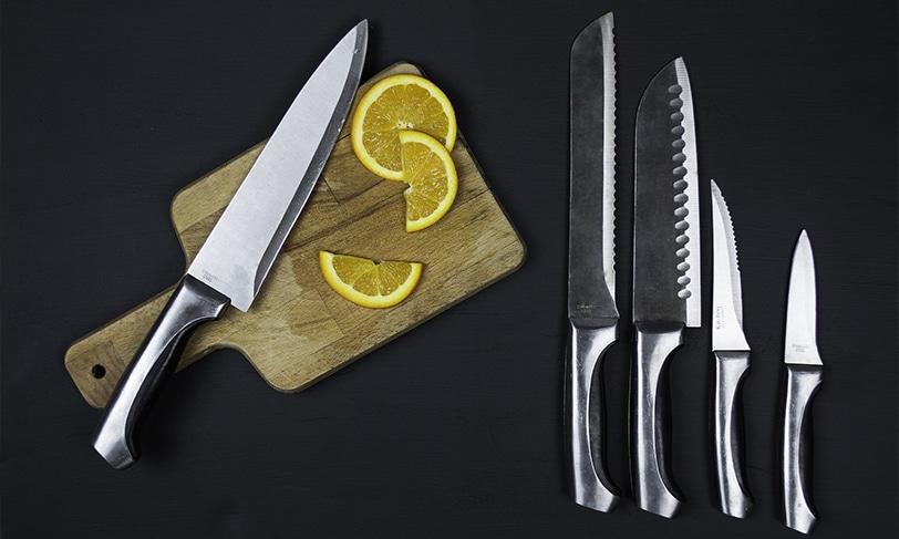 7 tipos de cuchillos que no pueden faltar en tu cocina
