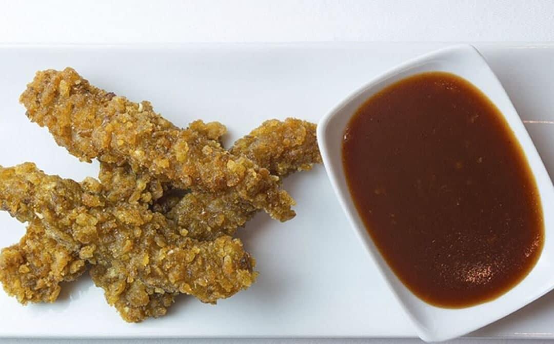 Lagrimitas de pollo con salsa thay