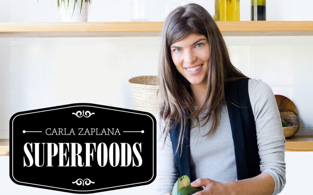 """Carla Zaplana, Dietista-nutricionista, Health Coach y autora del libro """"Superfoods"""""""