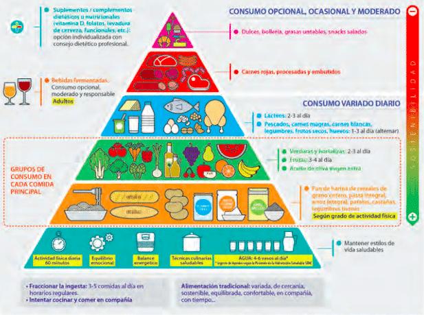 piramide de la alimentacion