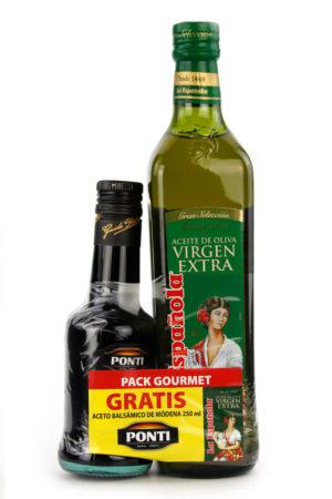 pack gourmet aceite y vinagre