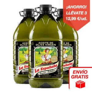 aceite de oliva virgen aroma andaluza 3l