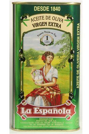lata aceite de oliva para regalo 1 litro