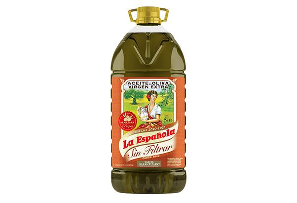 aceite de oliva virgen extra sin filtrar 5 litros la espanola